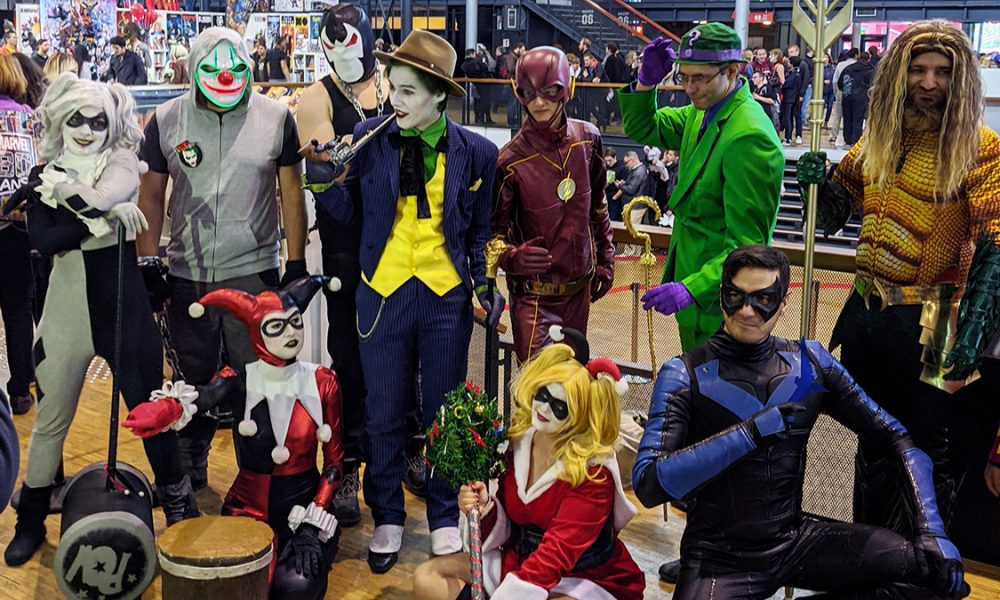 Cosplay Comic Comic Con Paris 2019